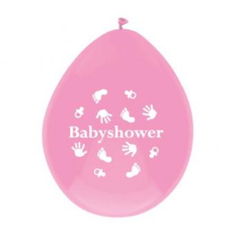 Ballonnen babyshower meisje