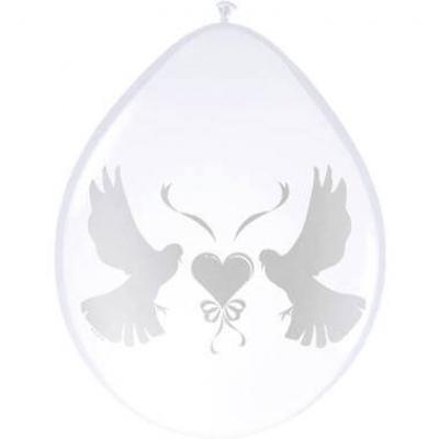 Ballonnen Duiven met hart