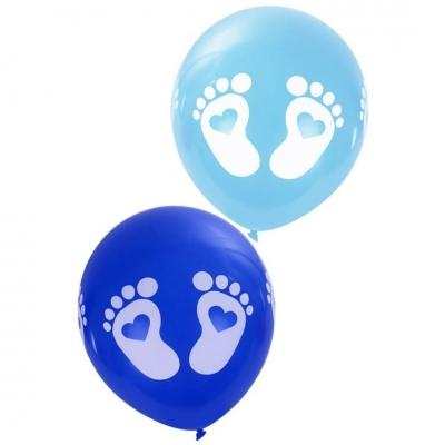 Ballonnen baby voetjes Jongen