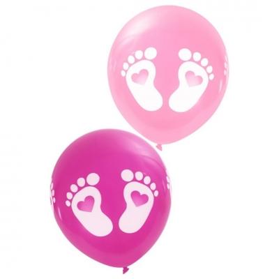 Ballonnen baby voetjes Meisje