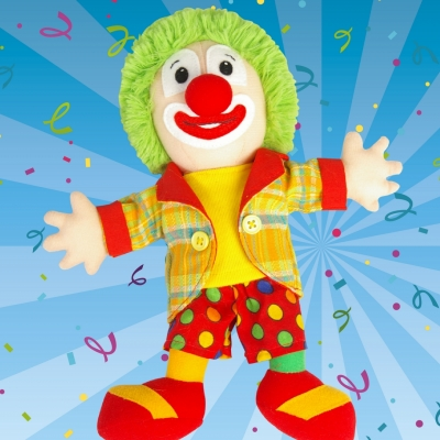 Clown Jopie Knuffel