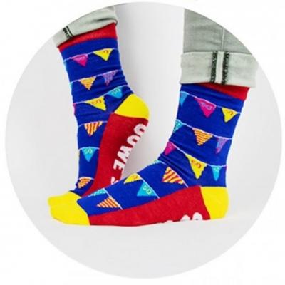 Funny socks - 50 jaar, ouwe sok!