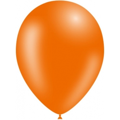 Oranje Ballonnen - per 100 stuks