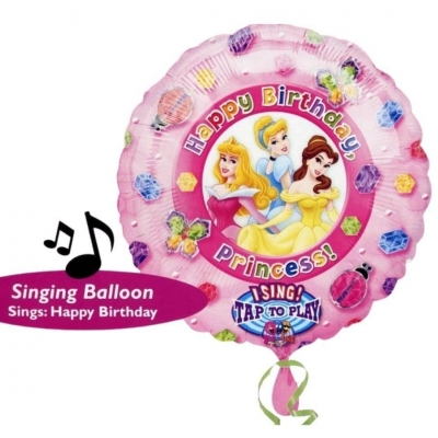 Zingende Ballon - Happy Birthday Prinses