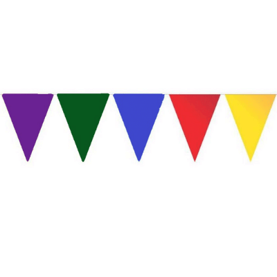 Vlaggenlijn Gekleurd
