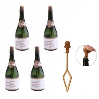 Bellenblaas Champagneflesjes