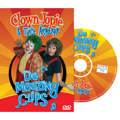 DVD - De Meezing Clips met Clown Jopie & Tante Angelique