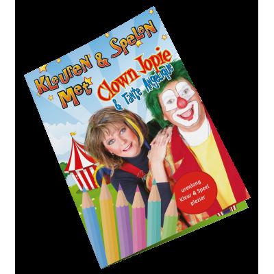 Kleurboek van Clown Jopie en Tante Angelique