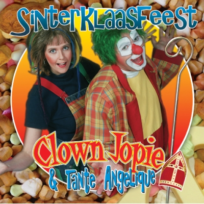 CD – Sinterklaasfeest met Clown Jopie & Tante Angelique
