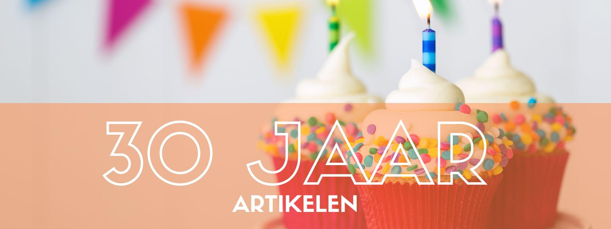 Versiering bestellen voor een 30e verjaardag bij JB Feestartikelen