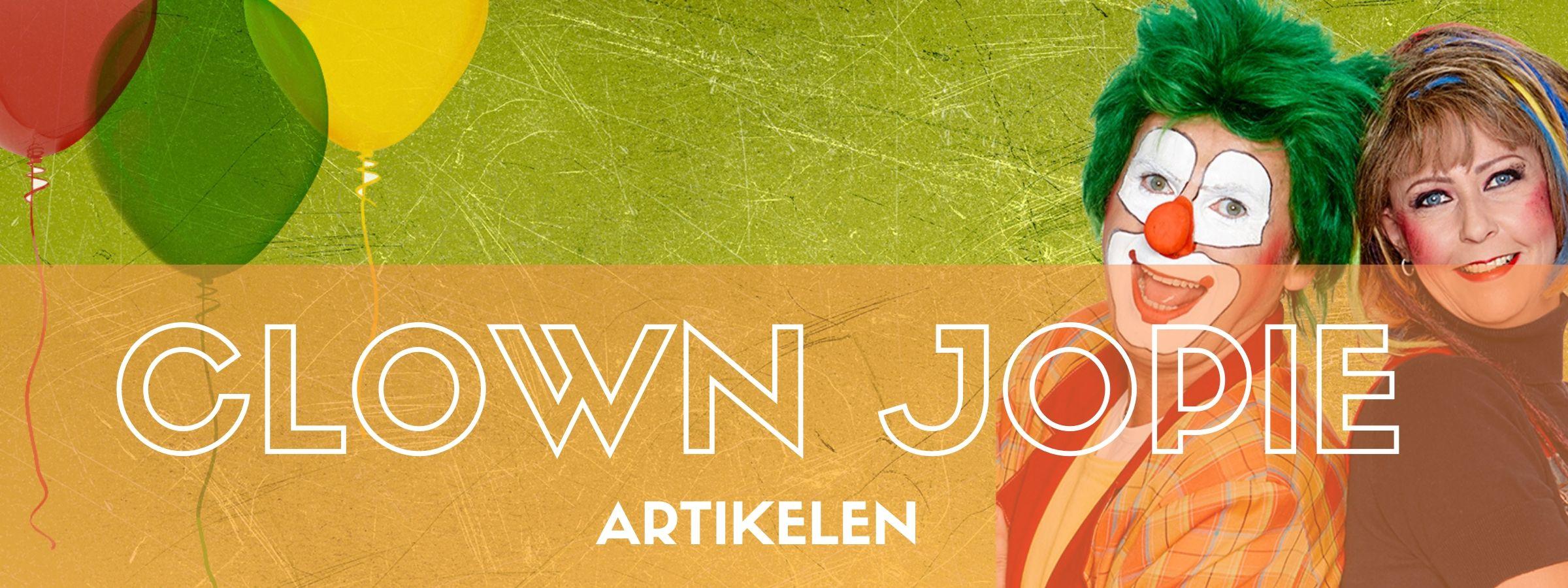 Clown Jopie & Tante Angelique artikelen bestellen bij JB Feestartikelen