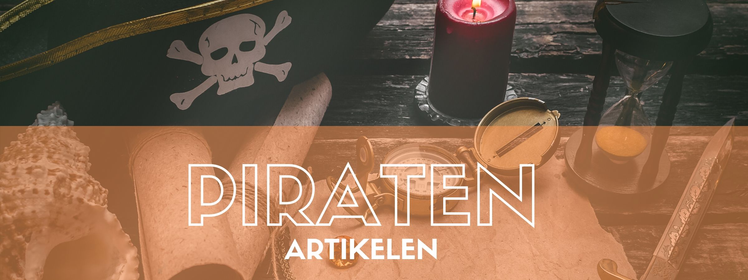 Piraten artikelen bestellen bij JB Feestartikelen